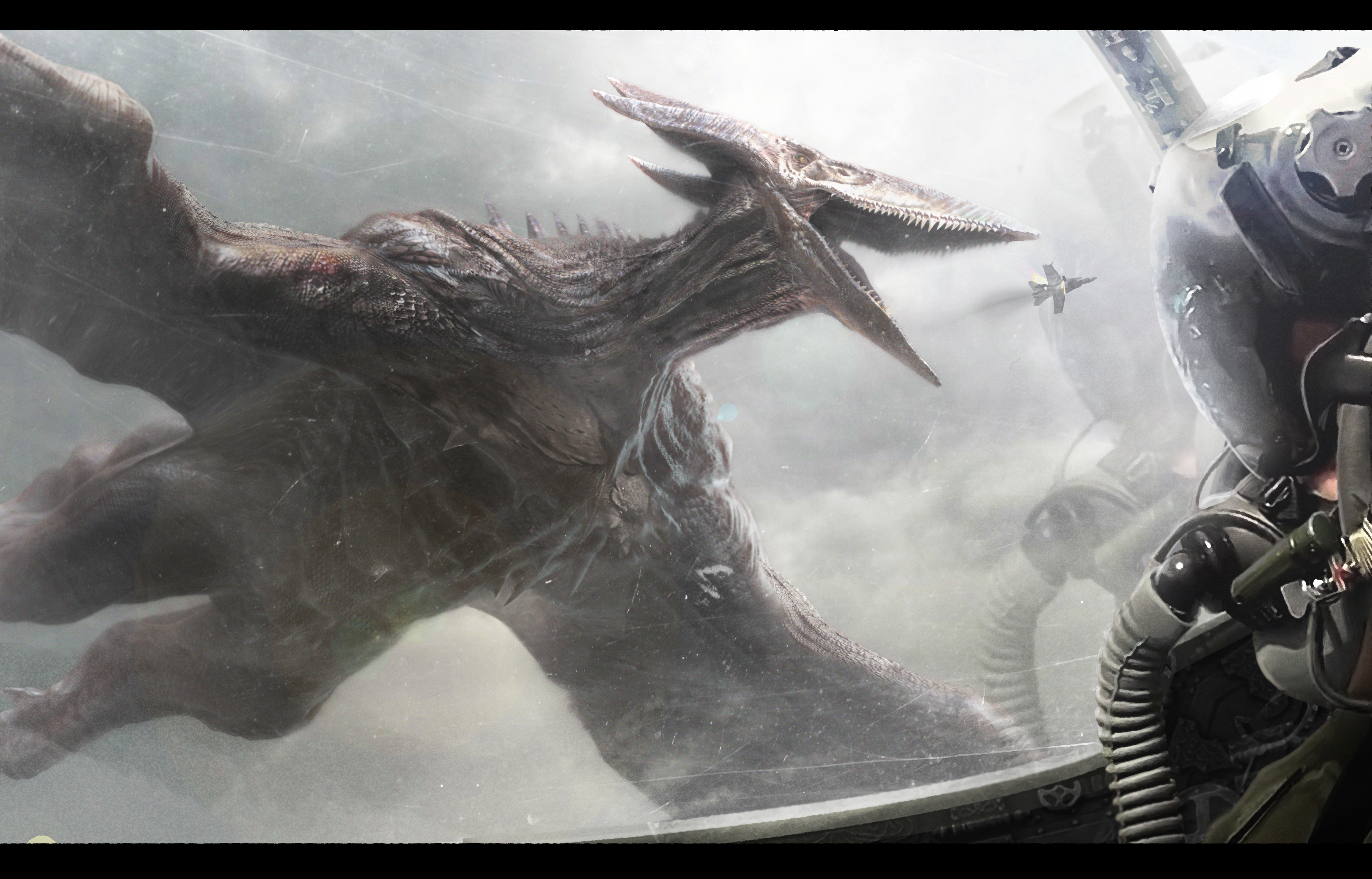 Rodan, Terror of the Skies by BlackMatter234