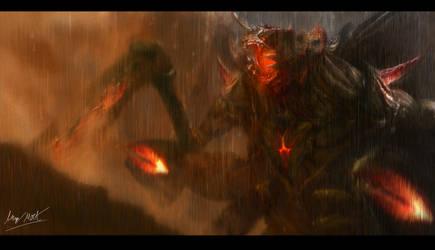 GDoW: Destroyah by InkVeil-Matter