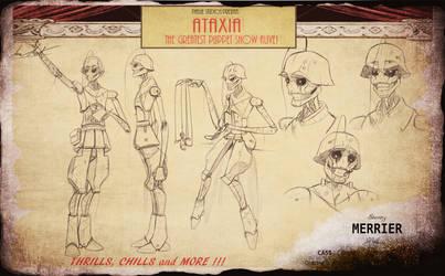 ATAXIA- Merrier Character Sheet by InkVeil-Matter