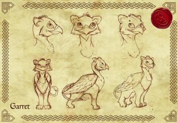 SCORCHER- Garret Character Sheet by InkVeil-Matter