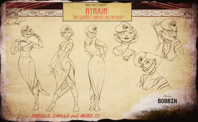 ATAXIA- Bobbin Character Sheet by InkVeil-Matter