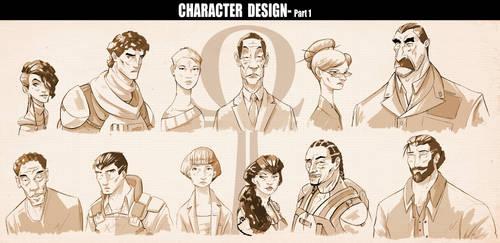 THERIS- Character Design Sheet by InkVeil-Matter