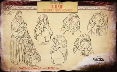 ATAXIA- Annika Character sheet by InkVeil-Matter