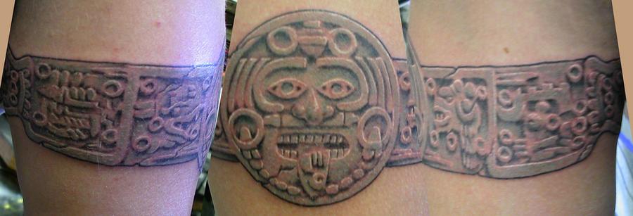 Mayan Calander Armband by Hylland1 on DeviantArt