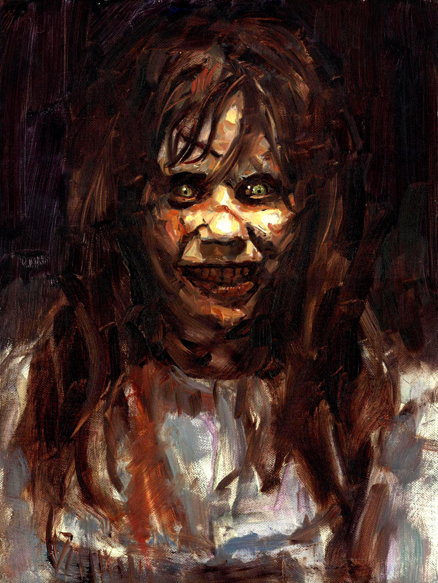 The Exorcist A Study By Vee209 On Deviantart
