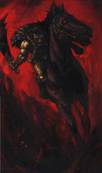 Horseman Berserker by vee209