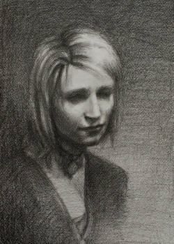 Maria: Pencil Study