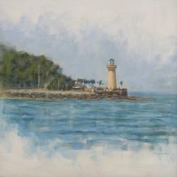 Pattaya Lighthouse by vee209