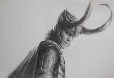 Loki: Study no. 2 by vee209