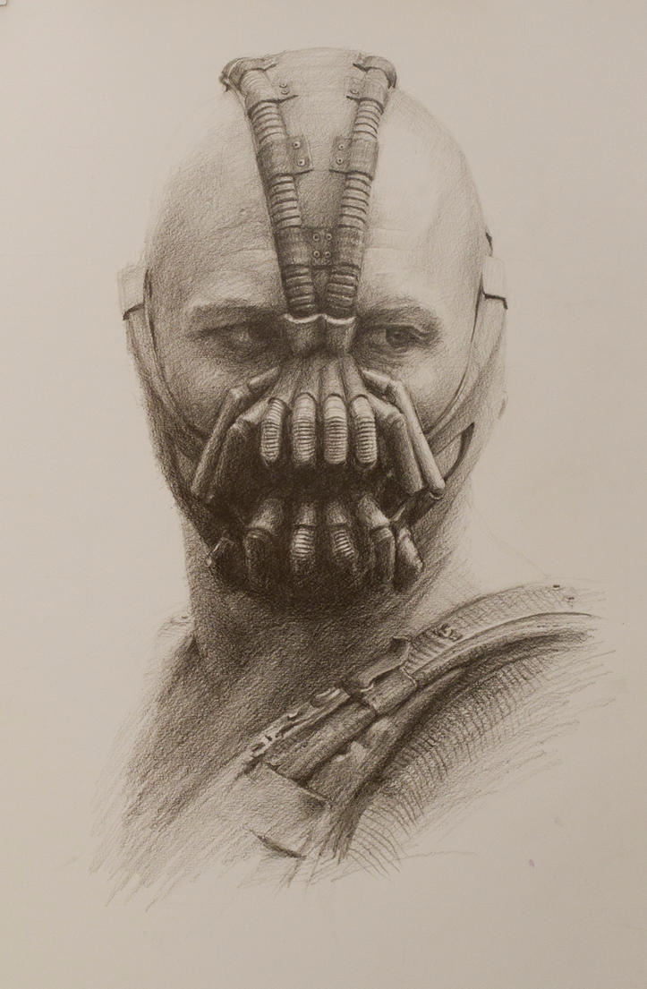 Bane: A Pencil Study by vee209 on DeviantArt