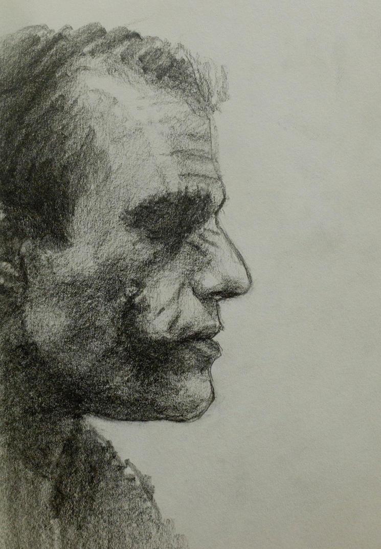 Joker: A Pencil Study by vee209