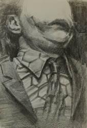 Joker's Dress pencil study by vee209