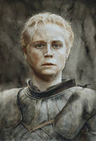 Brienne of Tarth: a watercolour portrait