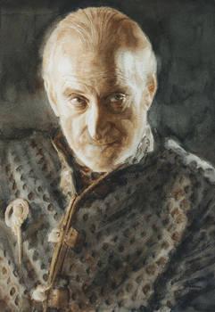Tywin Lannister: a watercolour portrait