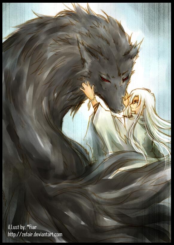 :: Demon Wolf :: by zefiar on DeviantArt - photo#13