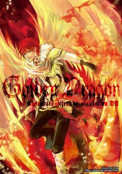 Commission - Golden Dragon