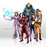 Sketch Commission - Army by zefiar