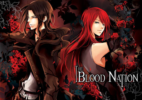 The Blood Nation YAOI Comic Series - Cover