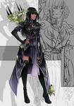 Sketch Commission - Sylvie-Clos