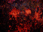 Black Red Rust Texture