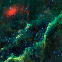 Space Background Green by RavenMaddArtwork