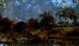 Lily Pond Nostalgia by RavenMaddArtwork