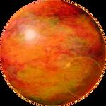 Golden Planet Sun PNG