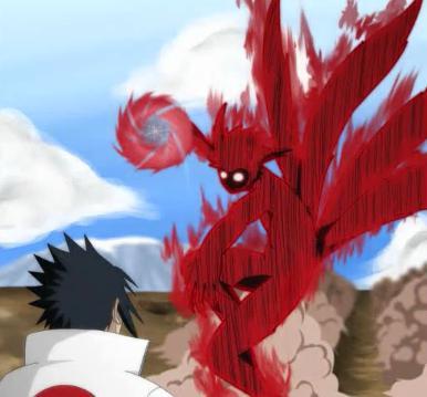 naruto kyuubi vs sasuke - photo #7