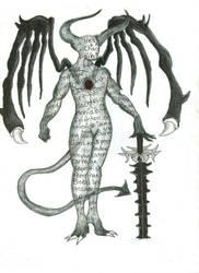 The Demon of Sin 'Tarvoros'