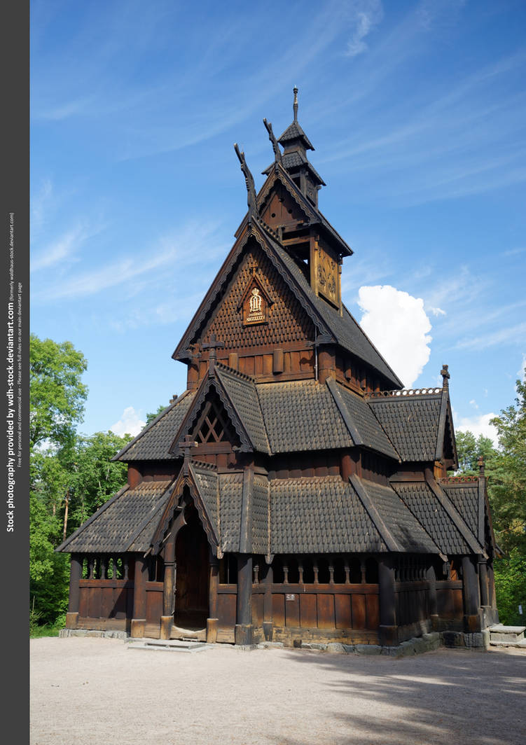 Stave Church I by WDH-Stock