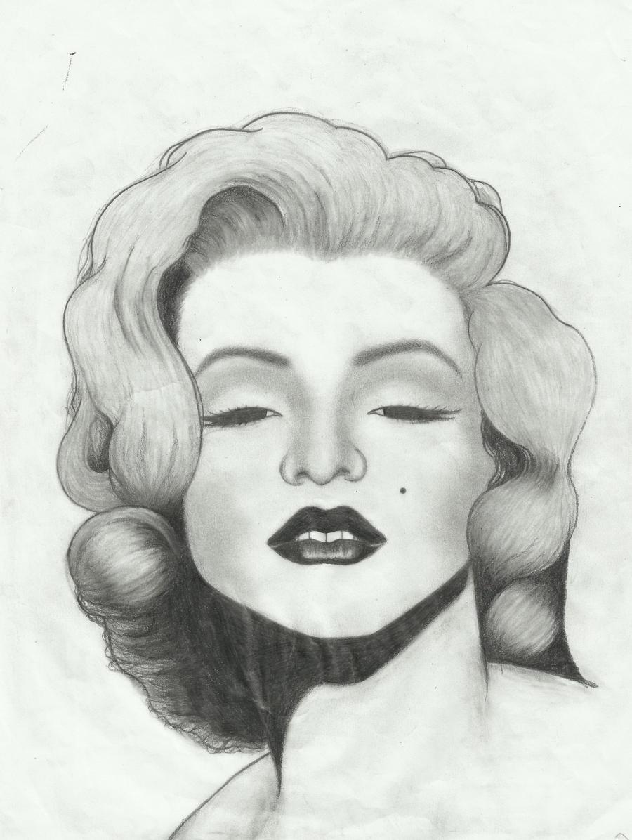 marilyn monroe by maurozed on deviantart