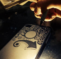 Sharpie - IPhone case by MauroZED