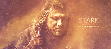 Stark - Game of Thrones by RafaboyUzu