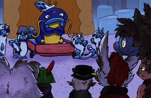 Basalt Halls Collab: Band on the Run Part 6 FINAL by BlackRayquaza1