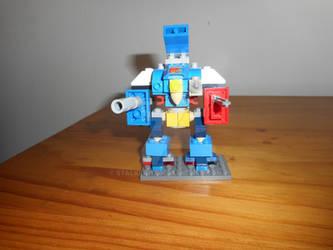 Microscale Lego Imperial Knight Warden by S7alker117