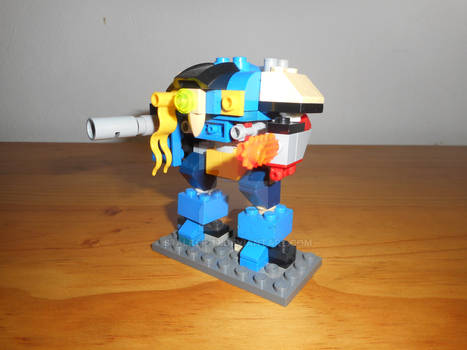 Microscale Lego Imperial Knight