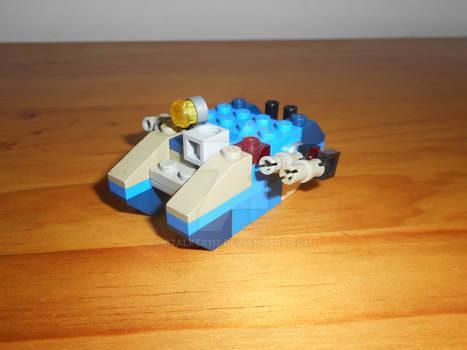 Microscale Lego Land Raider