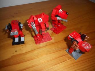 Micro-scale Lego Kurita lance