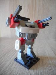 Micro-scale Lego JM6-S Jagermech