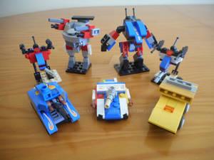 Micro-scale Lego Marik Lance