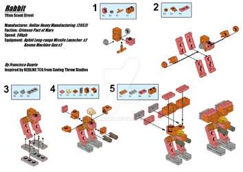 Redline Lego Rabbit by S7alker117