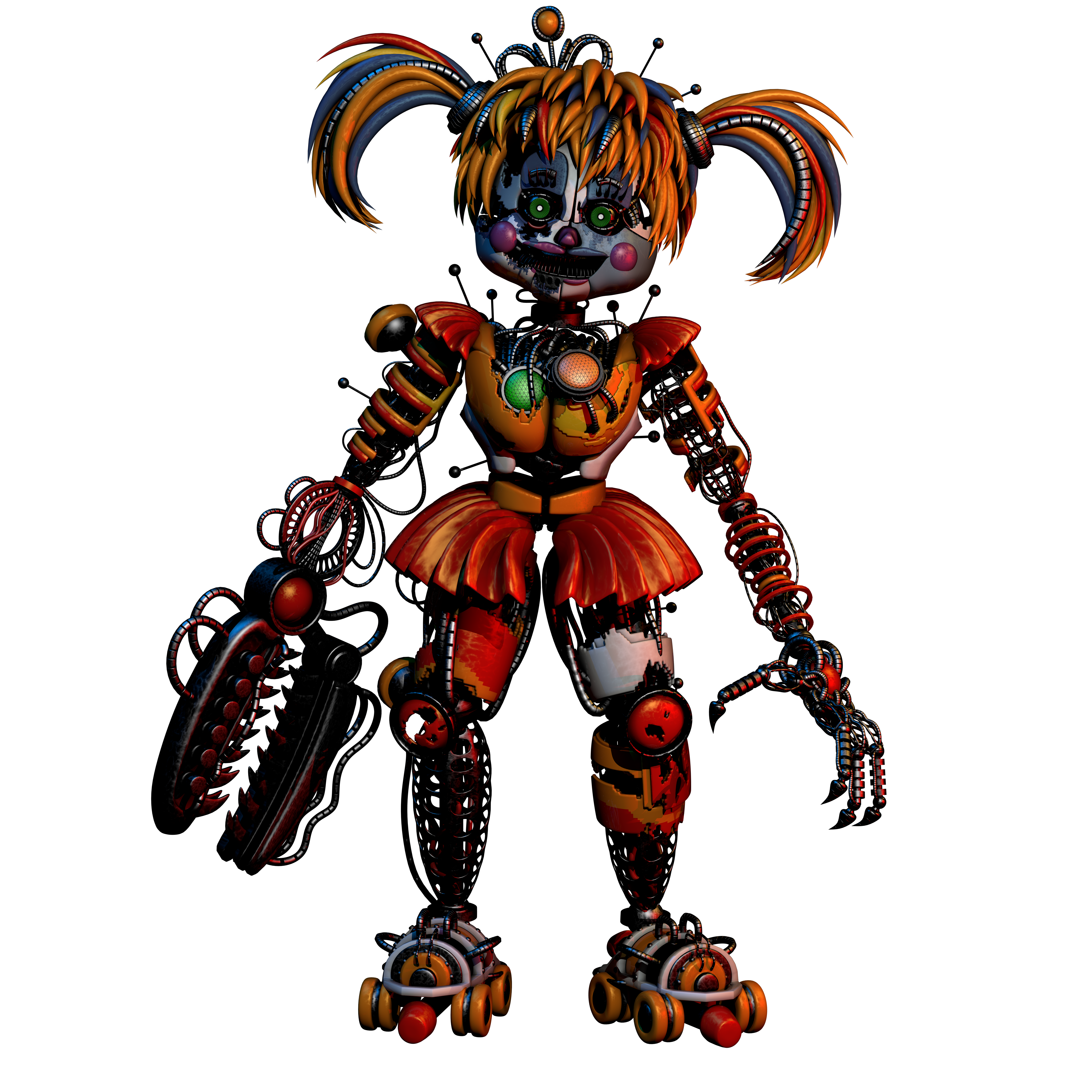 (FNAF C4D) Scrap Baby By Endyarts By MoisoGS On DeviantArt