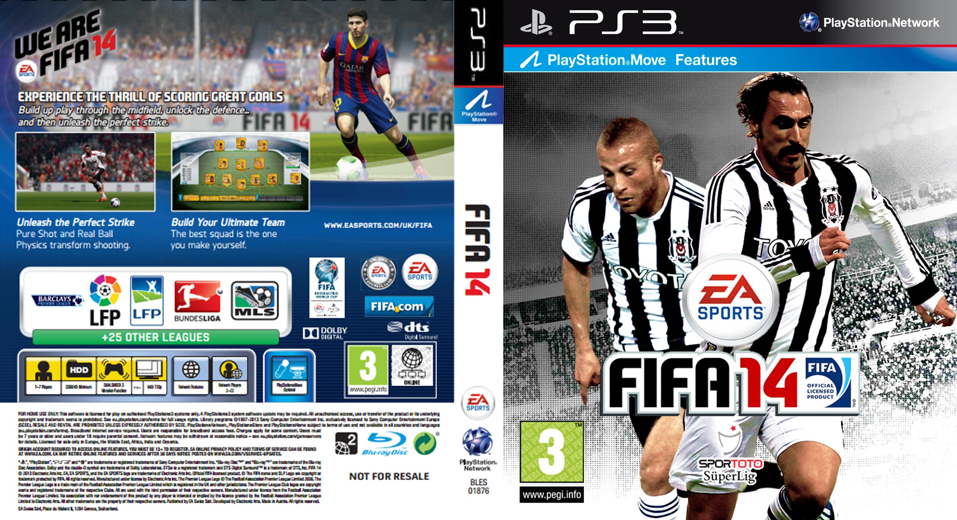 Fifa 14 ps3 box