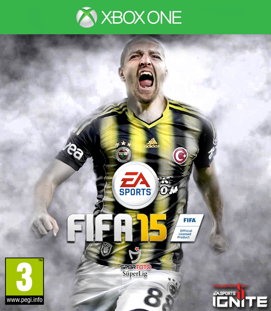 FIFA 15 XBOX ONE Caner Erkin Cover by carricudizillaXbox One Fifa 15