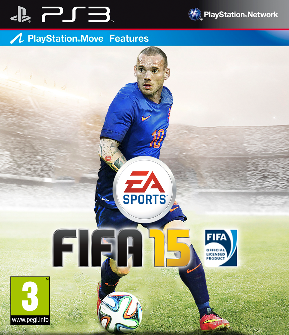 FIFA 15 PS3 Wesley Sneijder Cover by carricudizilla on ...