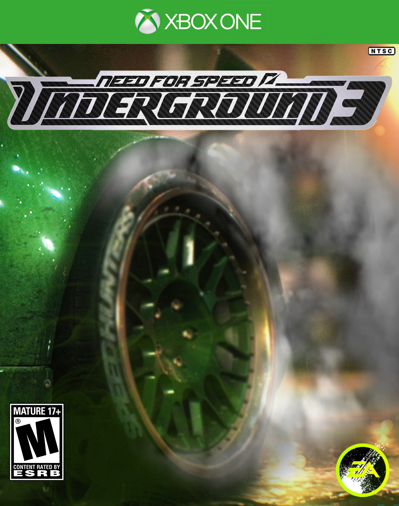 Need For Speed Underground 3 Custom Cover By Carricudizilla On Deviantart