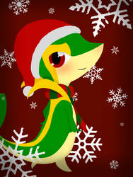 Christmas Snivy by Snivie
