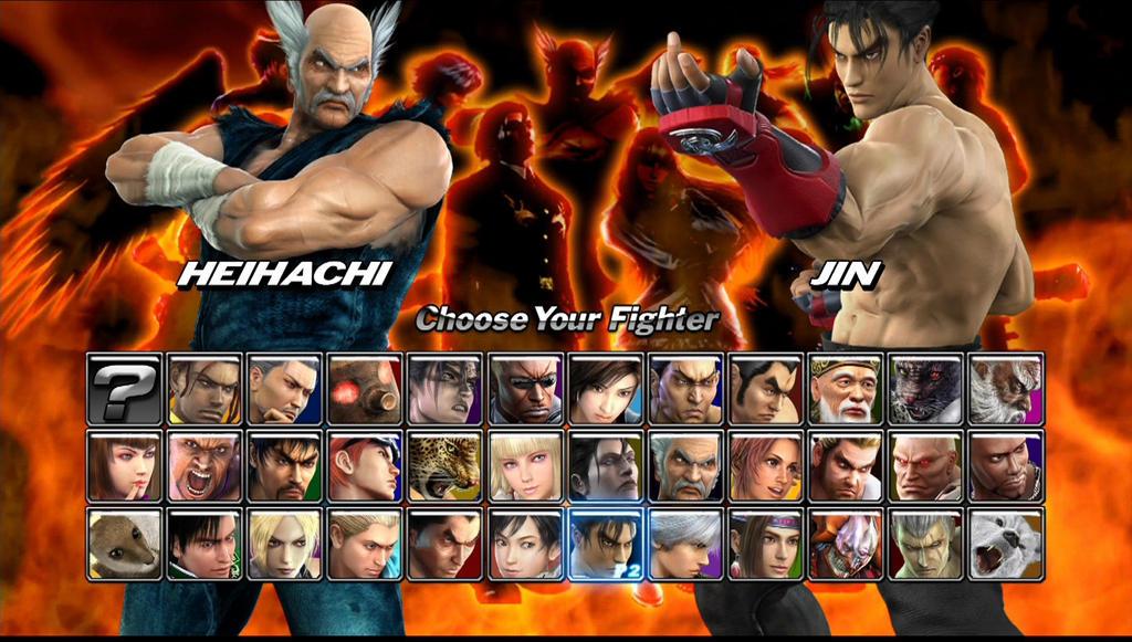 Tekken 5 Dark Resurrection Jin Vs Heihachi By Alucard 748 On