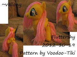 Fluttershy plush