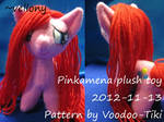 Pinkamena plush toy